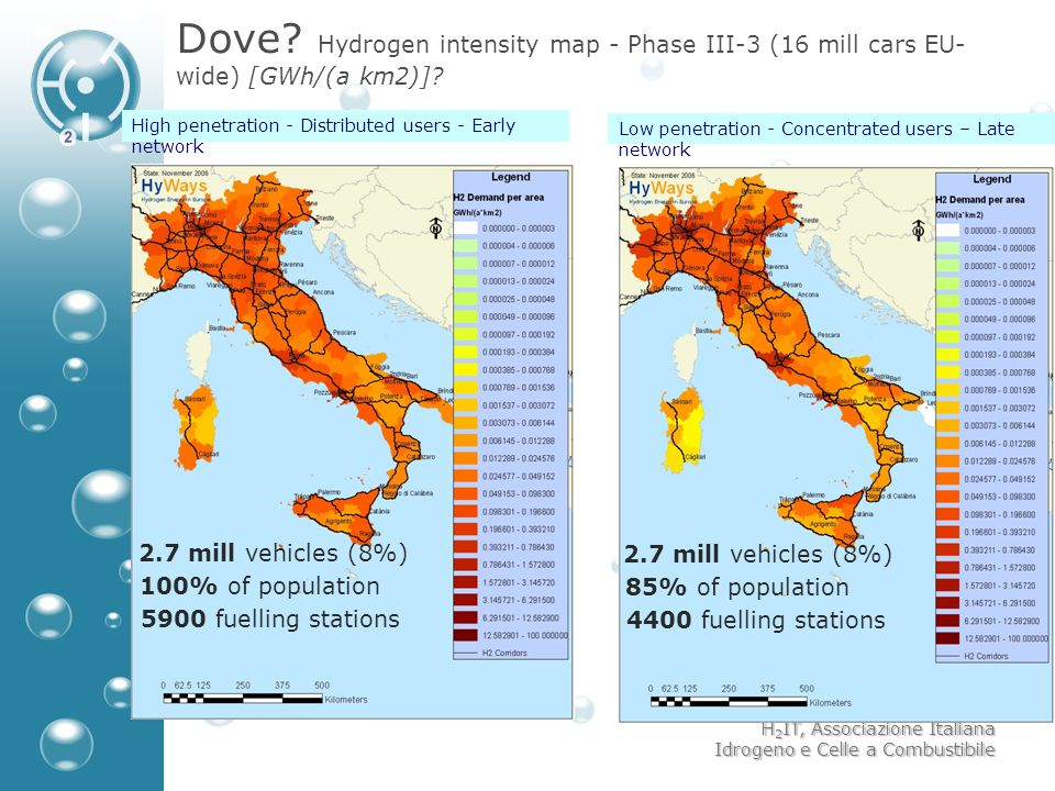 Dove Hydrogen intensity map - Phase III-3 (16 mill cars EU-wide) [GWh/(a km2)]